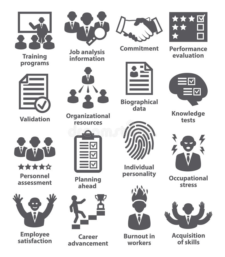 Free Business Management Icons. Pack 23. Stock Image - 72392961