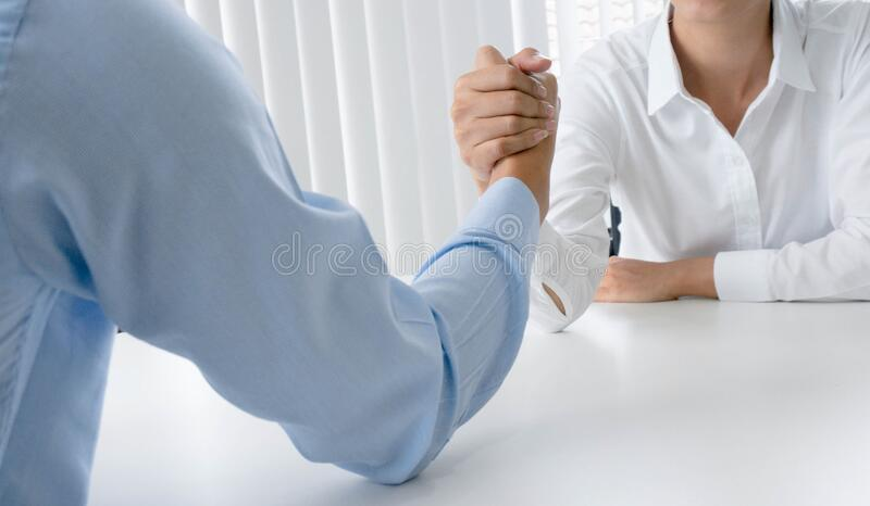 Business mans handshake. Business partnership meeting successful concept royalty free stock photo