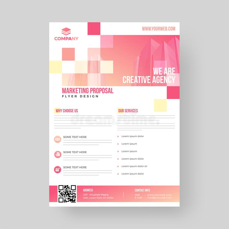 Marketing Proposal Business Flyer Design For Advertisement