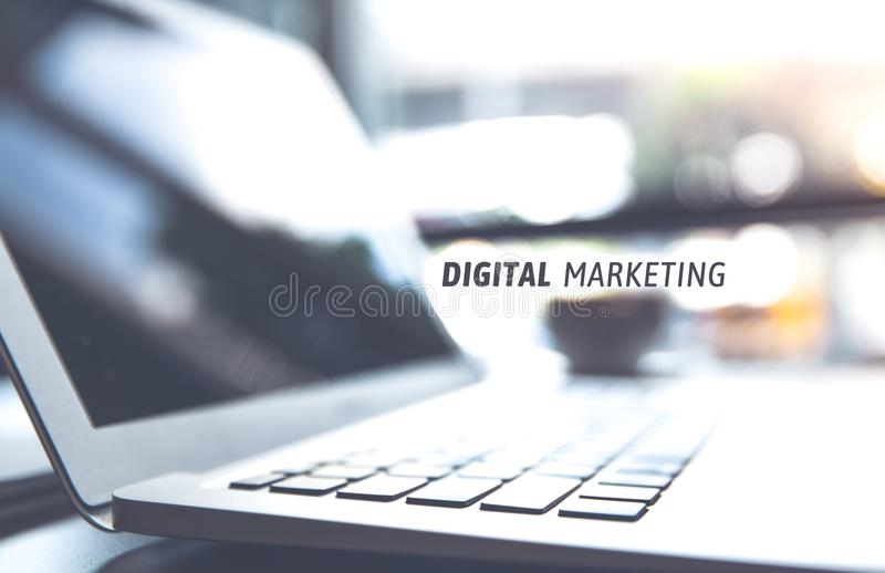 Business marketing, success and goals concept. stock photo