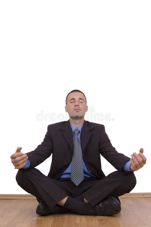 Download Business Meditation Royalty Free Stock Photography - Image: 1408257