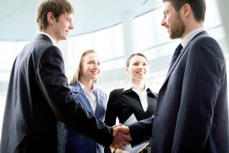 Download Business meeting stock image. Image of caucasian, business - 10164479