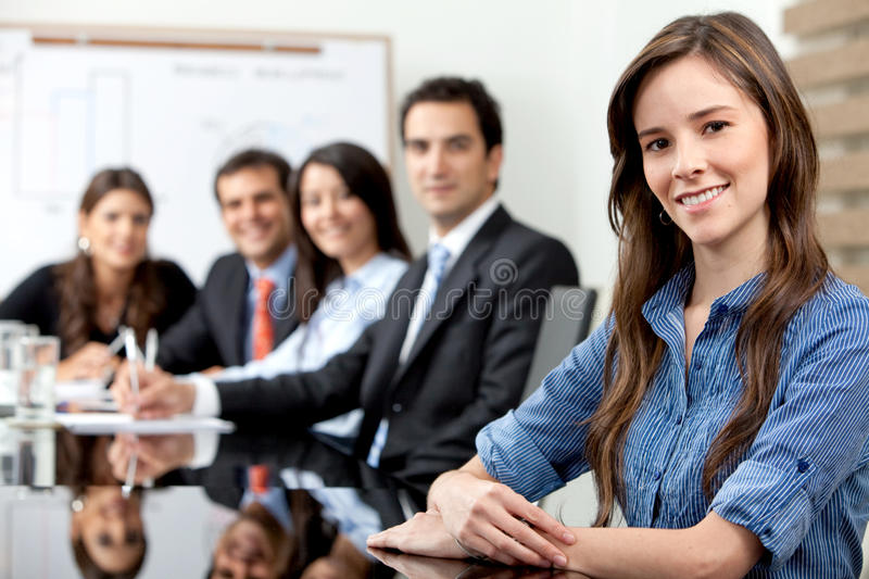 Download Business meeting stock photo. Image of businessperson - 12809476