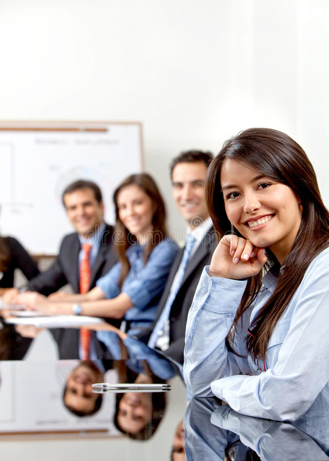 Download Business meeting stock image. Image of businesswomen - 12835013