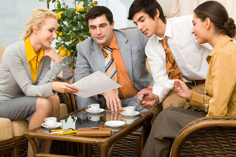 Download Business meeting stock image. Image of indoors, business - 12978887