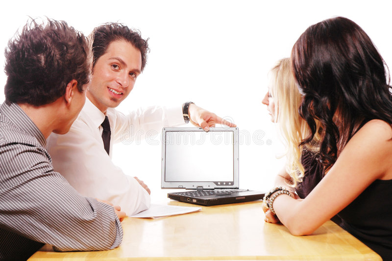 Download Business meeting stock image. Image of meeting, employee - 2119303