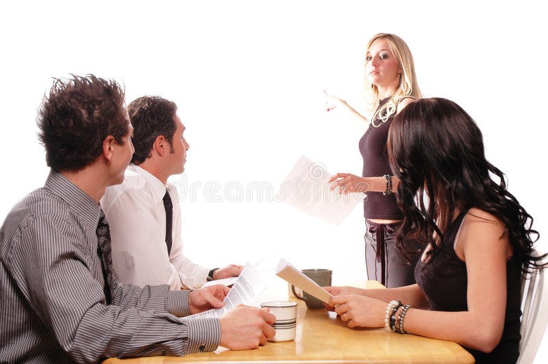 Download Business meeting stock image. Image of confident, employee - 2127759