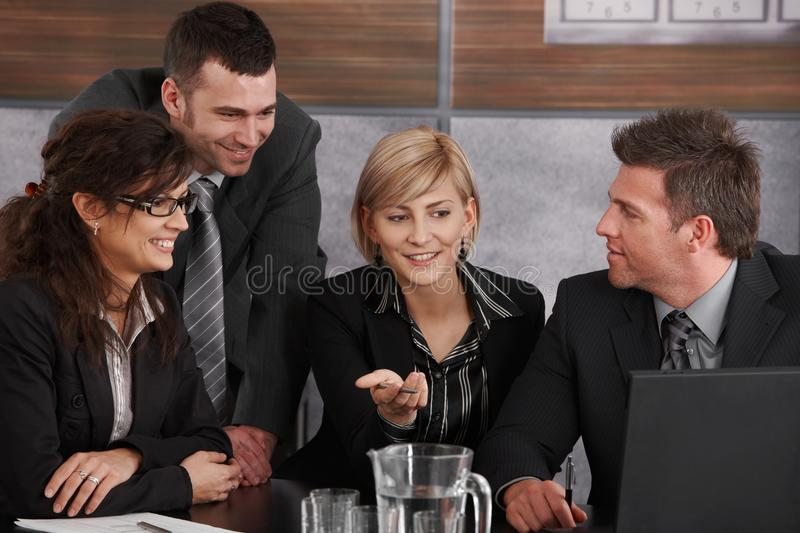 Download Business meeting stock photo. Image of happy, colleagues - 24850564