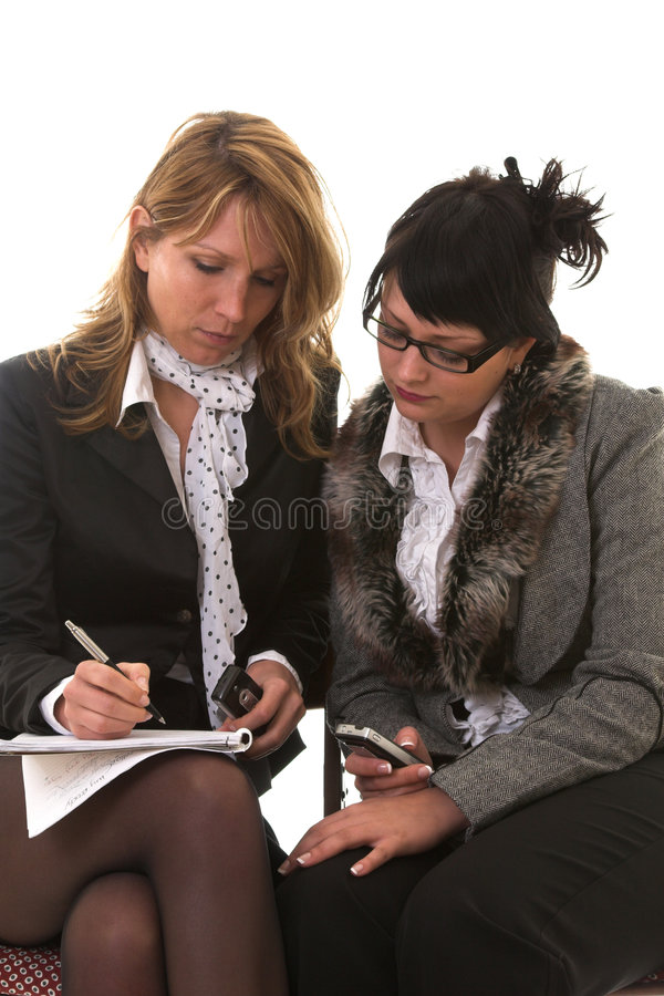 Business meeting royalty free stock photography