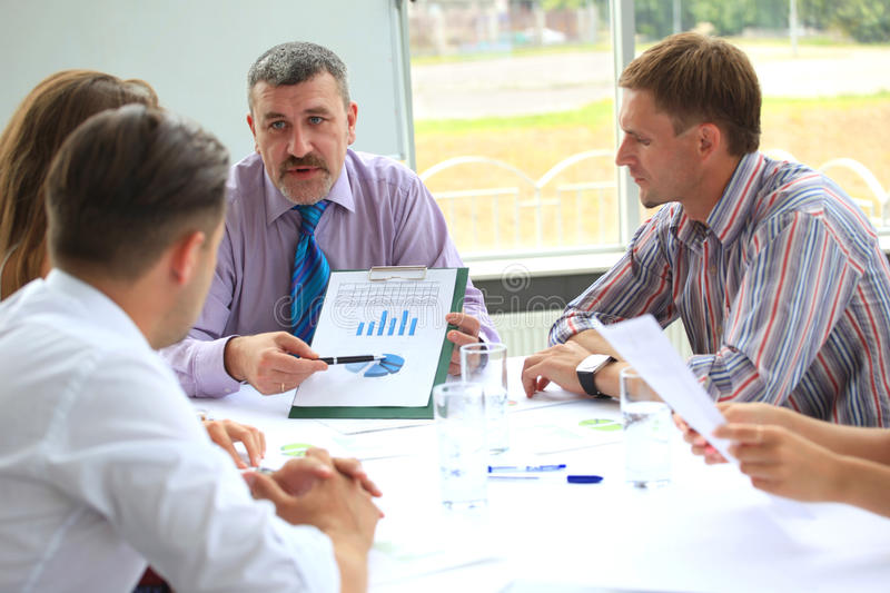 Download Business meeting stock photo. Image of professional, discussion - 26467404