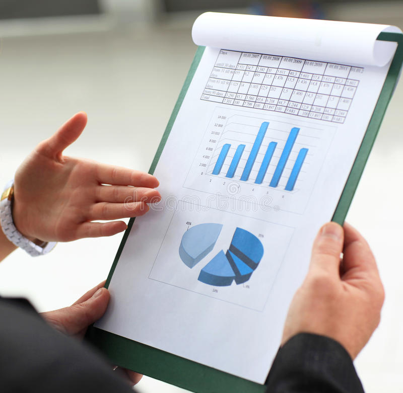 Download Business meeting stock image. Image of market, chart - 26468113