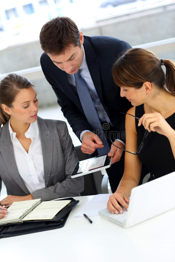 Download Business meeting stock photo. Image of meeting, adults - 27166242