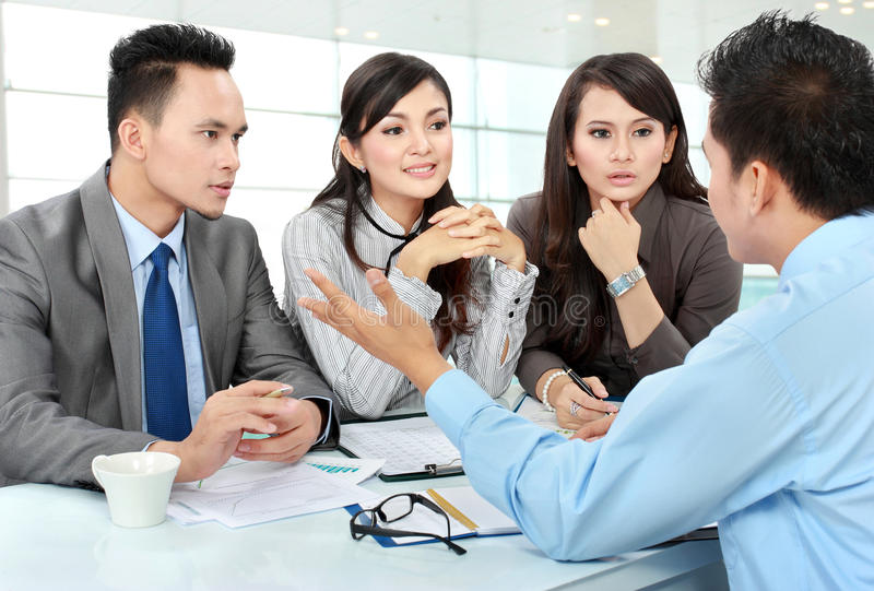 Download Business meeting stock image. Image of businessman, businessteam - 28347485