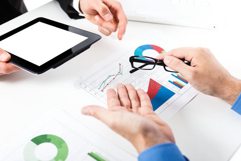 Download Business meeting stock image. Image of accounting, growth - 29289057