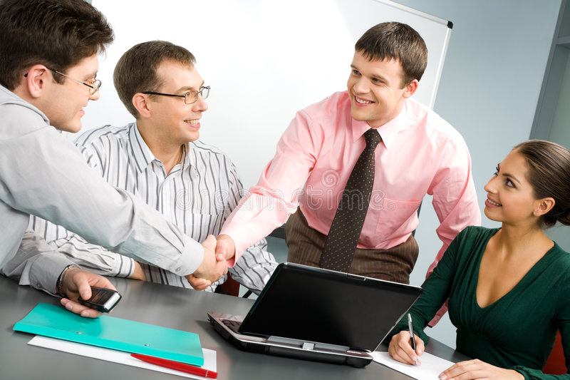 Download Business meeting stock photo. Image of financial, business - 3923108