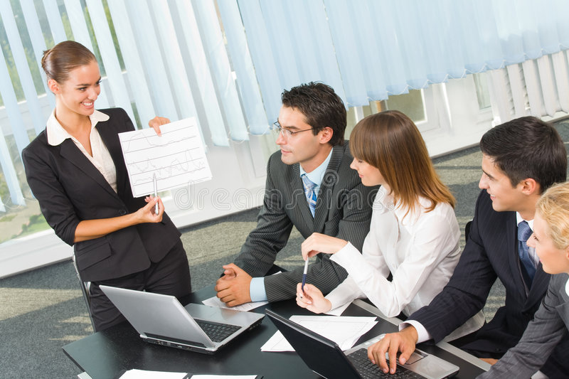 Download Business meeting stock image. Image of corporation, interaction - 6370705