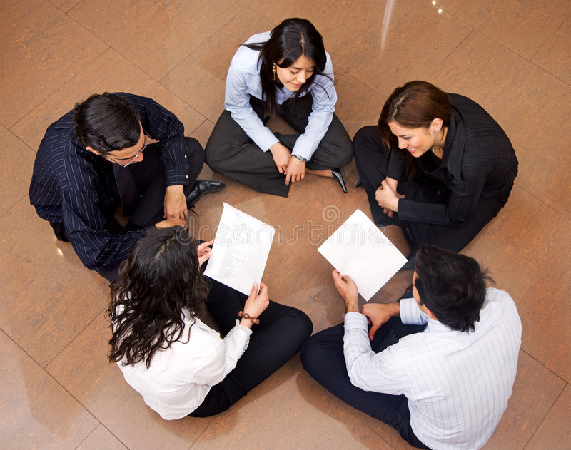 Download Business meeting stock image. Image of teamwork, smile - 7049131