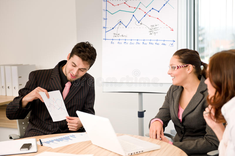 Download Business Meeting - Group Of People In Office Stock Photo - Image of three, people: 17648074