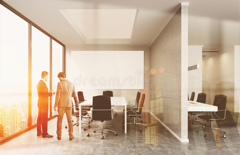 Business meeting in New York stock image