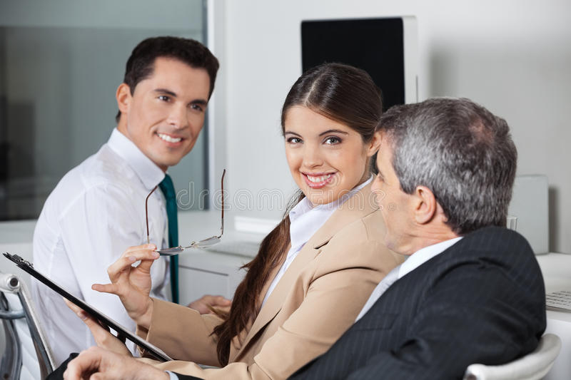 Download Business Meeting In The Office Stock Photo - Image of capital, meeting: 27545100