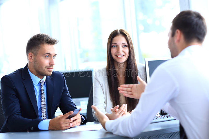 Download Business meeting stock photo. Image of explaining, businessman - 32942346