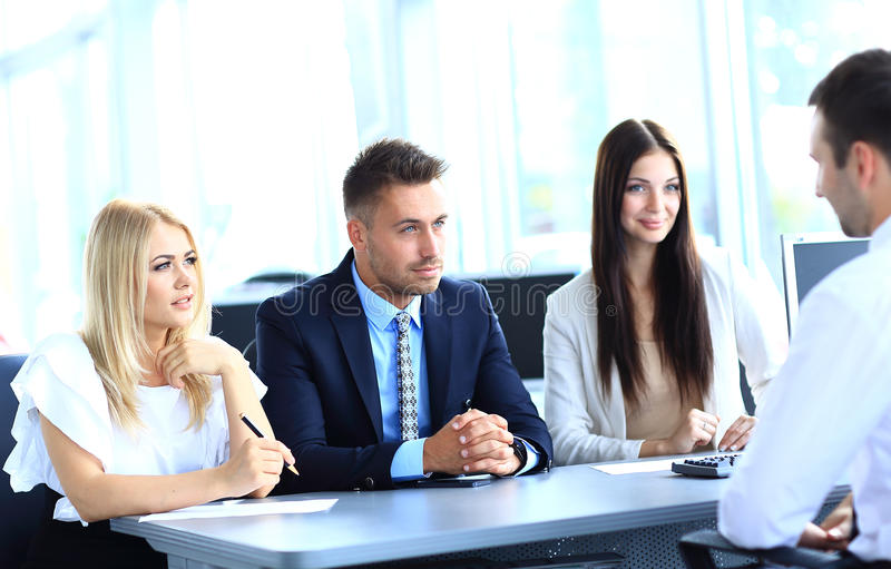 Download Business meeting stock image. Image of explaining, businessman - 32942403