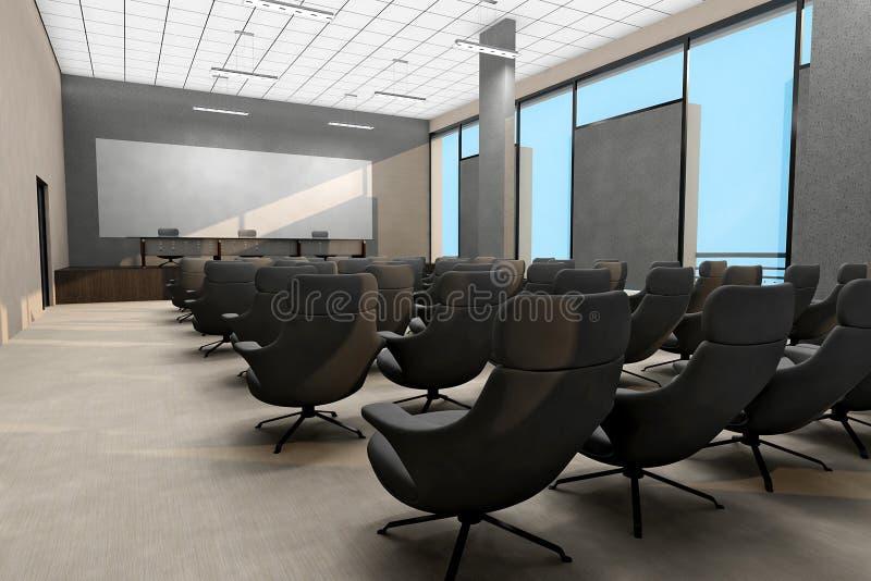 Business meeting room interior