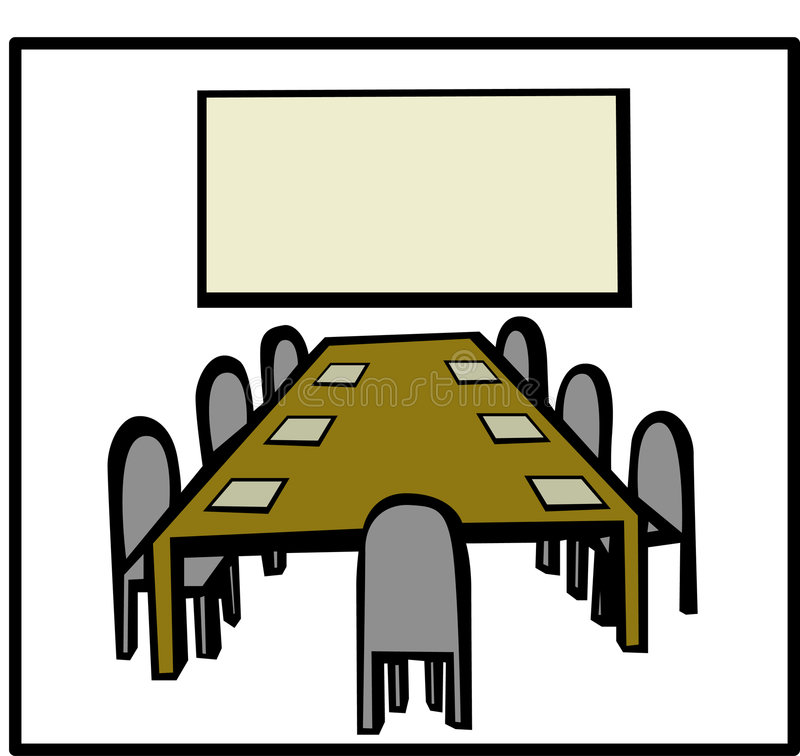 Download Business Meeting Room Vector Illustration Stock Photo - Image: 1711880
