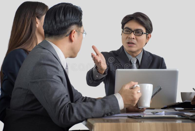 Business meeting. royalty free stock image
