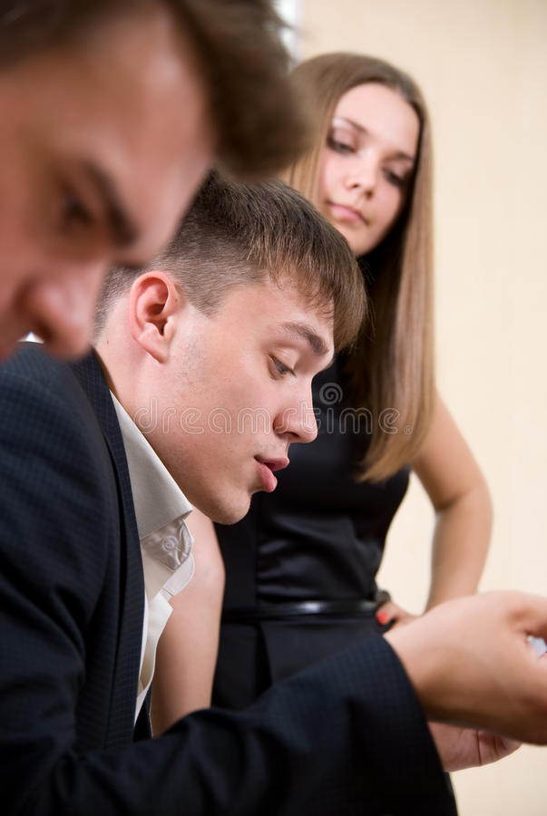 Download Business Meeting Of Young People. Stock Image - Image: 25577165