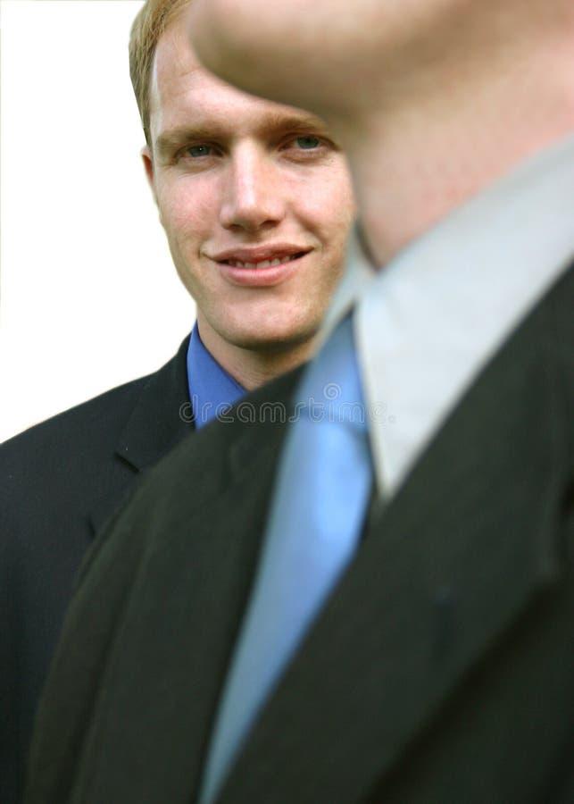 Business men royalty free stock photo