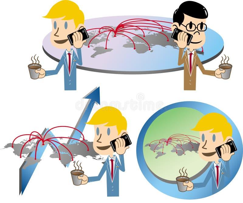 Download Business men stock vector. Illustration of international - 25384902