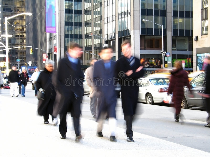 Download Business Men stock photo. Image of crowd, people, york, hour - 88936