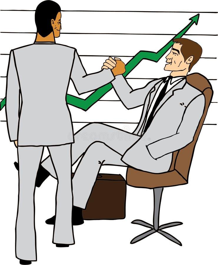 Download Business Men Celebrating Success Stock Photo - Image: 22733330