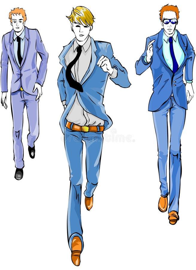 Business Men Running stock photo