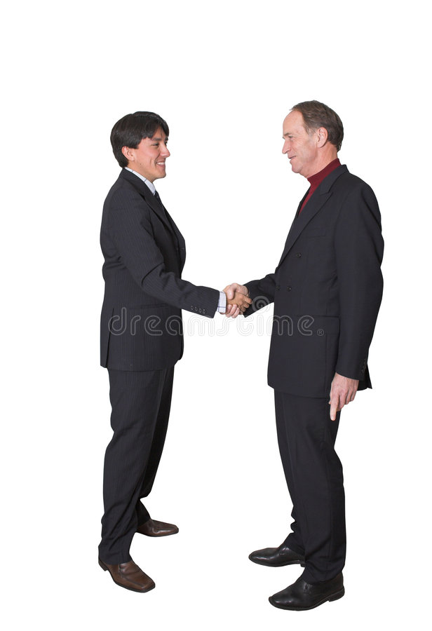 Download Business men shaking hands stock image. Image of honor - 419425