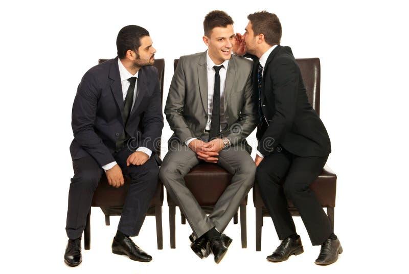 Download Business Men Telling A Secret Stock Image - Image: 28245491