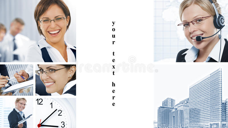 Business Mix Royalty Free Stock Image