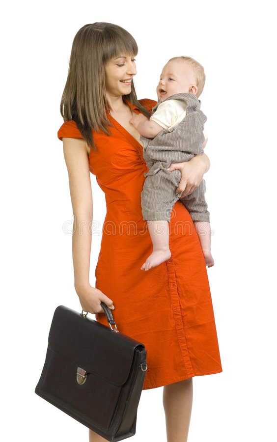 Free Business Mommy Royalty Free Stock Photo - 2555155