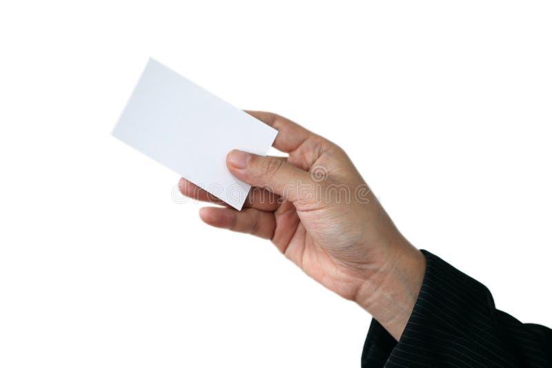 Business name card royalty free stock photos