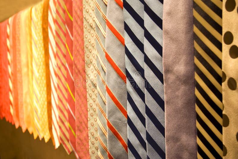 Business neckties stock photography