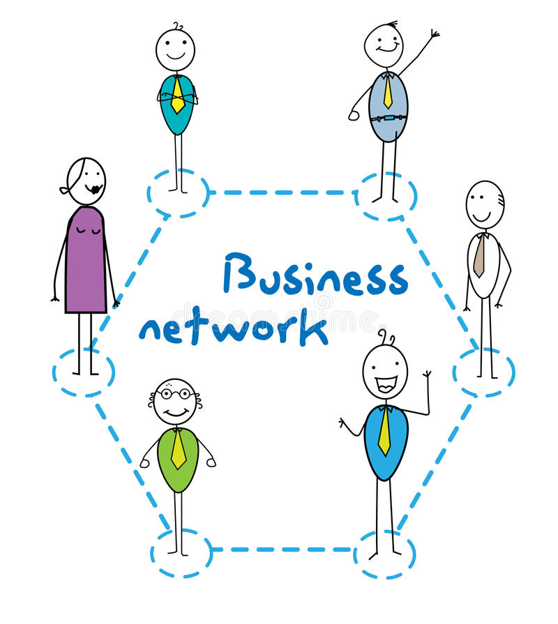 Download Business network stock illustration. Image of community - 21495420