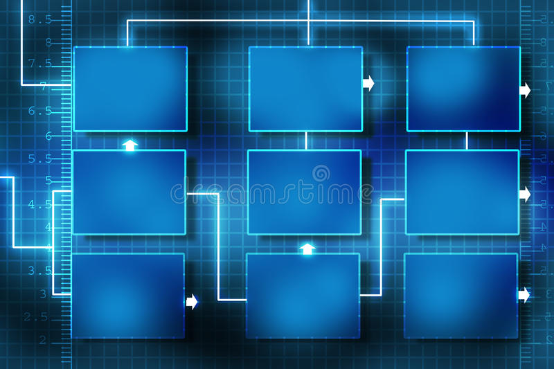 Download Business network stock illustration. Image of plan, abstract - 25657291