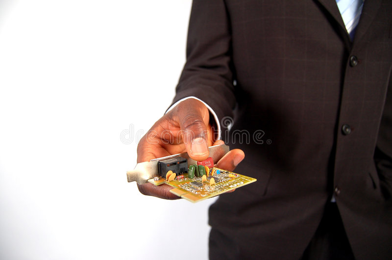 Business Networking Card stock photos