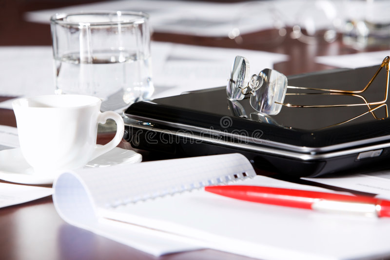 Business objects royalty free stock image