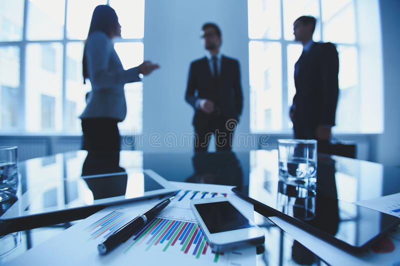 Business objects royalty free stock photography