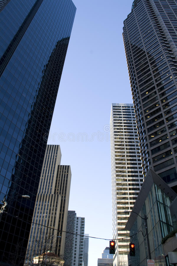 Business office buildings royalty free stock photos