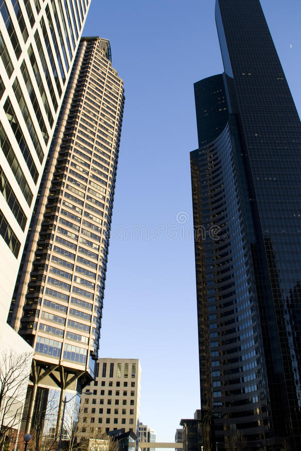 Business office buildings royalty free stock image