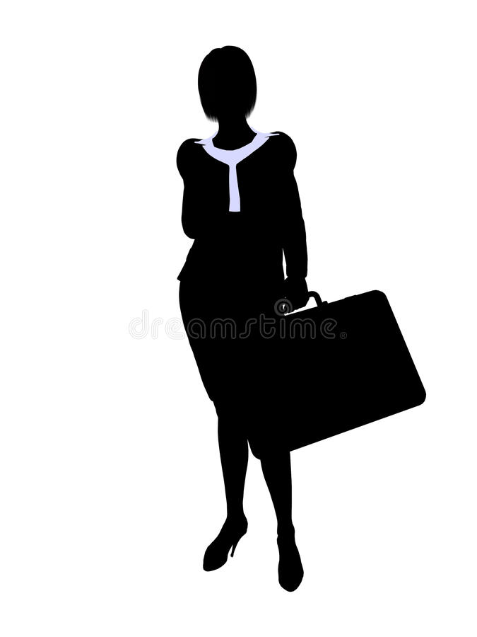 Download Business Office Illustration Silhouette Royalty Free Stock Photography - Image: 10566037