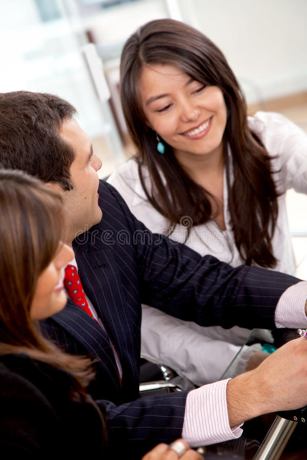 Download Business Office Team Work stock image. Image of corporate - 12390695